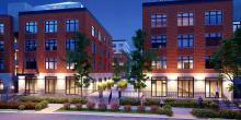 Second & Delaware Passive Building Project - Front Rendering