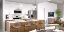 Second & Delaware Passive Building Project - Interior Rendering