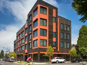 Kiln Passive House Apartments, Portland Oregon