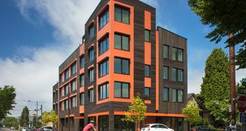 Kiln Passive House Apartments, Portland Oregon