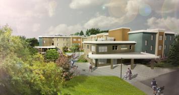 Village Centre, Brewer Maine, Passive Building Project