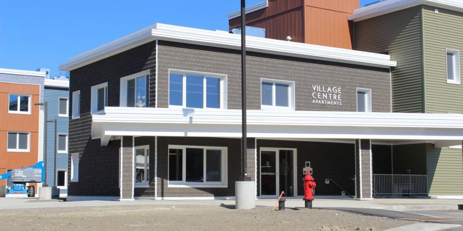 Village Centre, Brewer Maine, Passive Building Project