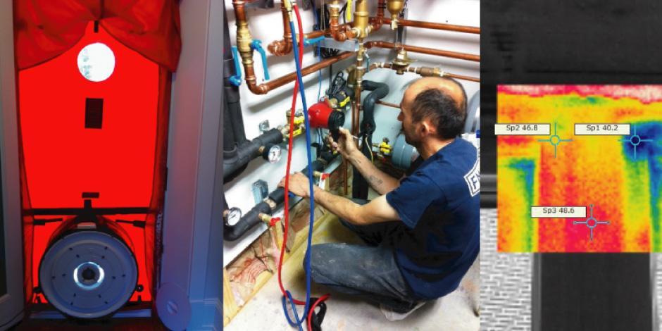 Blower Door Testing, System Balancing, Thermal Imaging